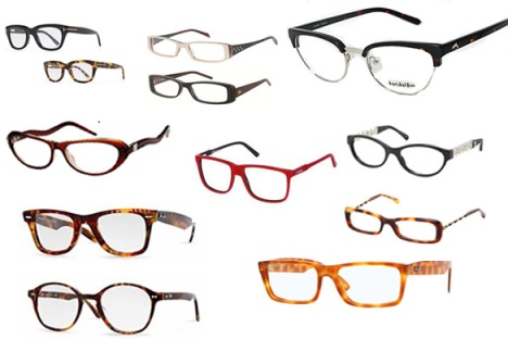 Choose the eyeglass frame that best promotes