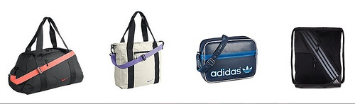 sport style handbag