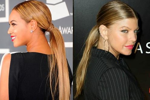 preppy ponytail