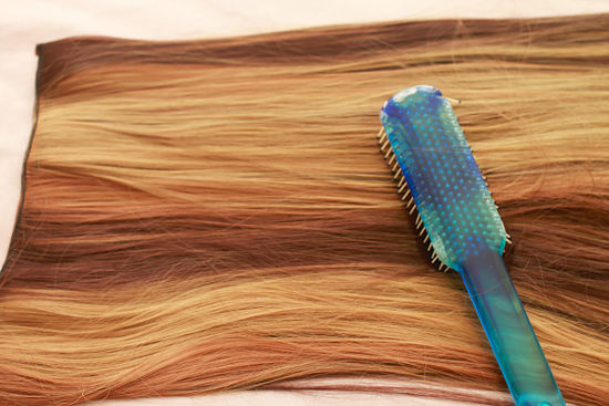 care for hair extensions