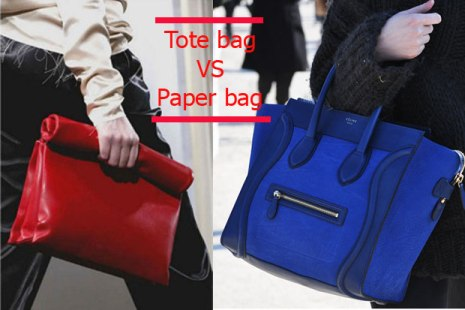 tote bag against paper bag