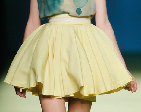 spring miniskirts