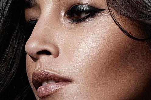 brown face makeup