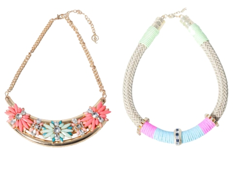 summer necklaces