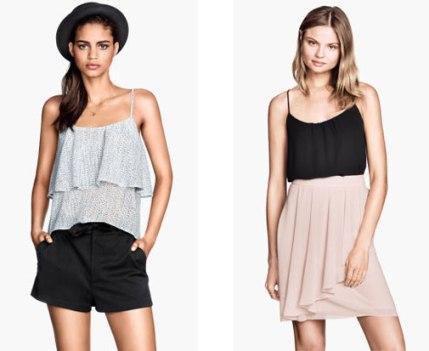frilly garments
