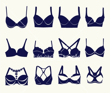 different types of bras