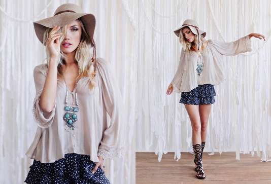 6 Ways To Rock Bohemian Style Fashion Eye