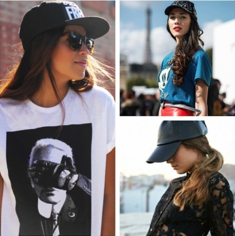 look with cap
