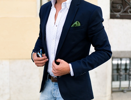 business casual style