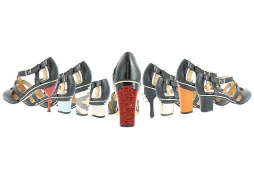 height of heels