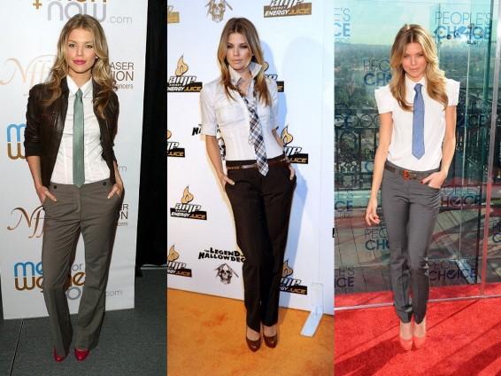 women tie