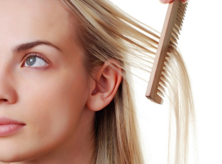 hide thinning hair